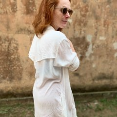 Chemise Patti Voil Off White
