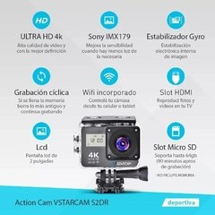 Camara Deportiva Full HD 4K Doble Lcd en internet