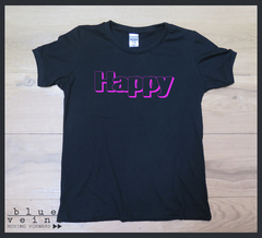 Remera Dama Happy - comprar online