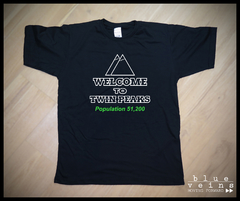 Remera Twin Peaks Welcome