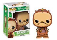 Cogsworth - Pop - Disney - Beauty and the Beast - 91 - Funko
