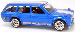 71 Datsun Bluebird 510 Wagon - Hot Wheels Collectors - 50 Favorites - 5/10 - 2017