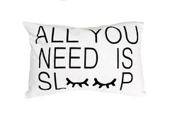 Almohadon rectangular  All you need Sleep