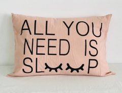Almohadon rectangular  All you need Sleep - comprar online