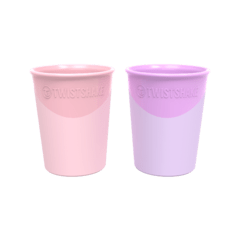 TWISTSHAKE 2X CUP 170ML 2 COLORES 6+M