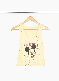 Top musculosa Mickey lunares