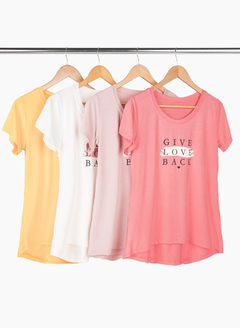 Remerón Give Love XL acampanado irregular - comprar online