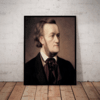 Quadro decorativo Grandes compositores Richard Wagner 42x29cm