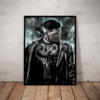 Quadro Decorativo Arte The Punisher O Justiceiro Marvel Hq