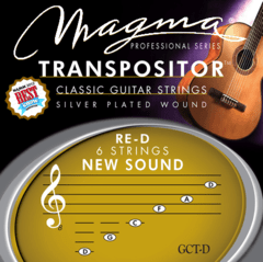 GCT-D ENCORDADO TRANSPOSITOR PARA GUITARRA CLÁSICA RE-D