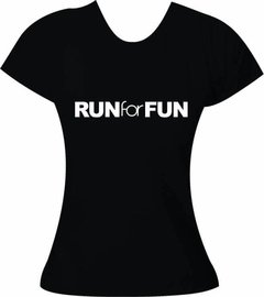 Camiseta Corrida Run for Fun - comprar online