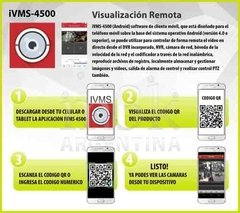 Kit Seguridad Hikvision Turbo 4.0 1080 Dvr 4 + 4 Camara 2mp - tienda online
