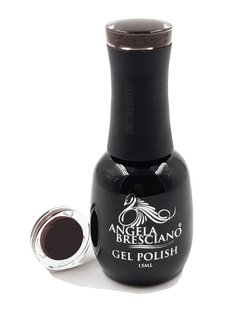 GEL POLISH  ANGELA BRESCIANO  COLOR CHOCOLATE