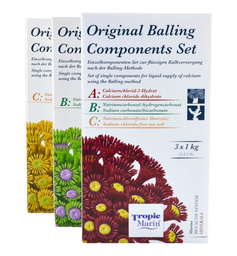 Bio - Original Balling - SET ABC 3X1 kg - Tropic Marin