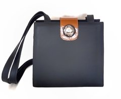 Colette Shoulder Bag Negro c/ Naranja
