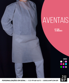 Kit de Aventais Higiênicos