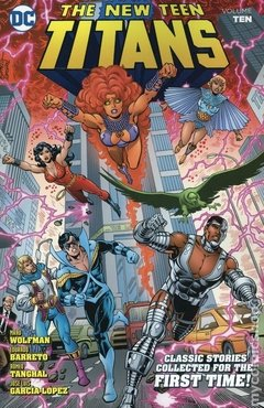 New Teen Titans TPB (2014-2018 DC) By Marv Wolfman and George Perez #10