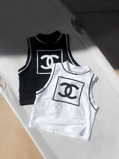 TOP CHANEL MUSCULOSA