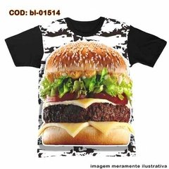 Camiseta  Chef  - Cheeseburger