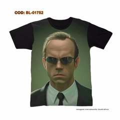 Camiseta  The Matrix Agent Smith