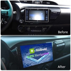 "Stereo Multimedia 10"" para Toyota Hilux 2016 al 2019 con GPS - WiFi - Mirror Link para Android/Iphone en internet"