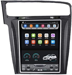 "Stereo Multimedia Tesla 10.4"" para VW Golf 2014-2019 con GPS - WiFi - Mirror Link para Android/Iphone"