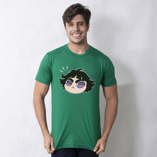 camiseta verde lançamentos bad hair day