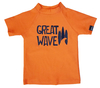 Remera MC Great Waves Naranja