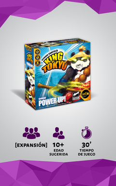 King of Tokyo: Power Up! - comprar online