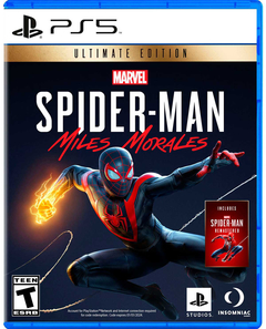 SPIDERMAN MILES MORALES ULTIMATE EDITION PS5